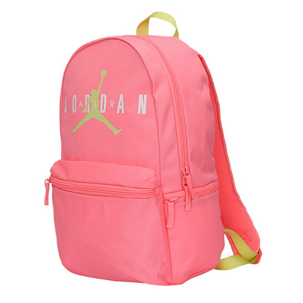 【滿額最高折318】NIKE Jordan Backpack 背包 後背包 休閒 水壺袋 粉【運動世界】JD2123005GS-003