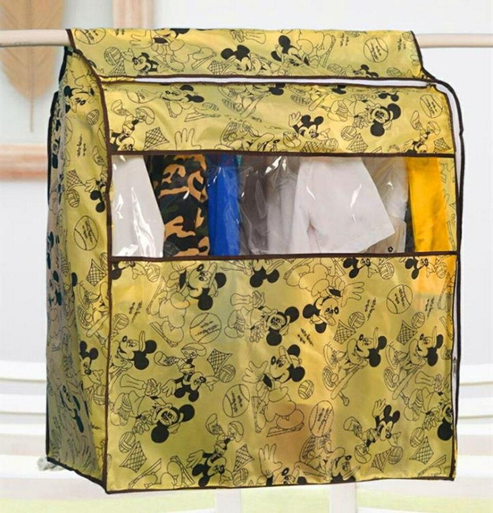 可水洗牛津布衣服防塵罩大衣西服套防塵套收納整理防塵袋衣罩 三角衣櫃