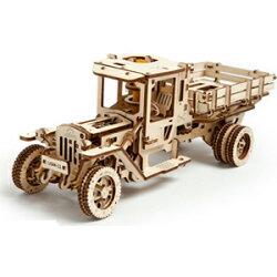UGEARS diy 自走精品模型 / 老卡車 烏克蘭精緻工藝