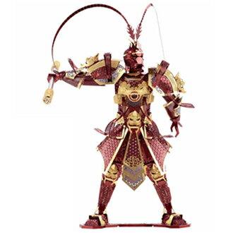 3D金屬 模型 DIY蘭精緻工藝 齊天大聖美猴王 鋼鐵版