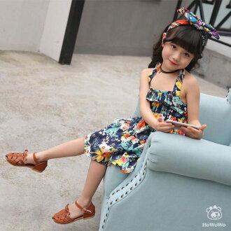 嬰幼兒涼鞋 縷空包頭PU涼鞋 娃娃鞋 童鞋(16-18.5公分) KL67 好娃娃