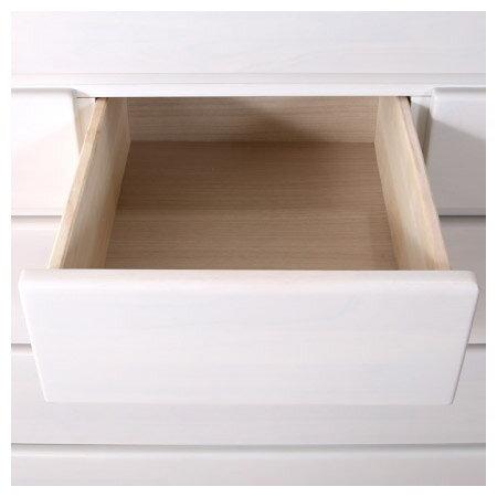 ◎(OUTLET)高整理衣櫃 斗櫃 OUKA2 120HC WH 福利品 NITORI宜得利家居 5