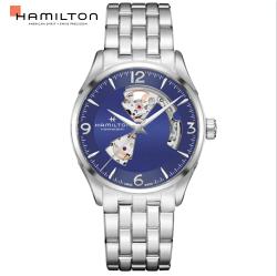 Hamilton 漢米爾頓 JAZZMASTER 爵士系列 80小時自動腕錶 H32705141藍/42MM