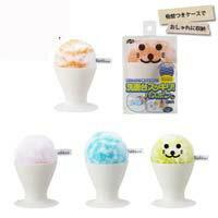 現貨 日本山崎產業 小海豹 洗臉盆清潔球 洗手台清潔刷 附立式吸盤收納座