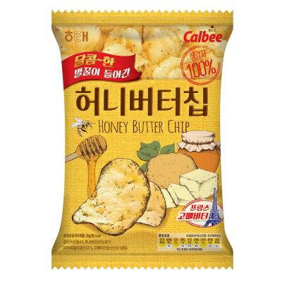 【HAITAI海太】 Calbee蜂蜜奶油洋芋片(60g)