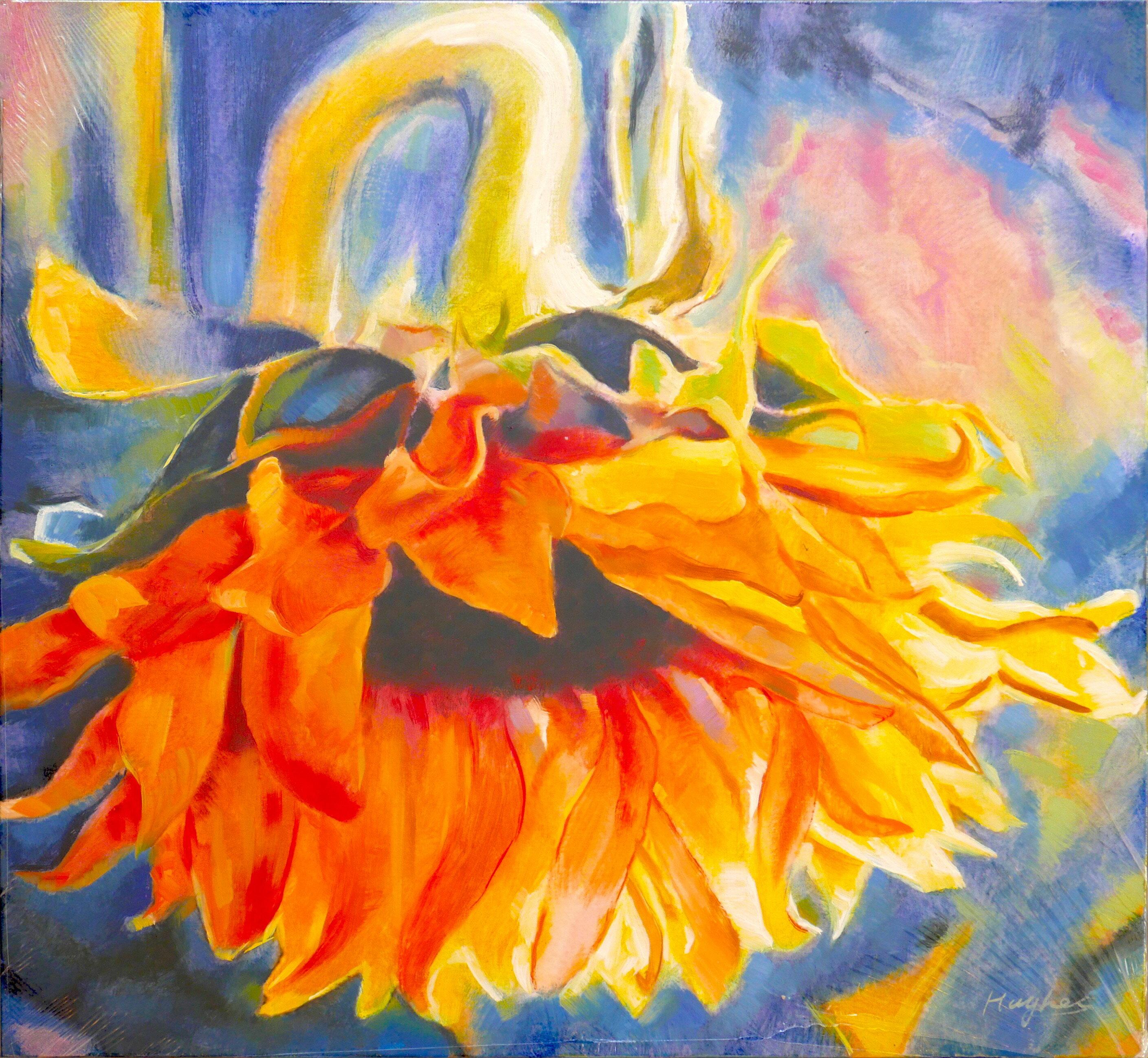 聚鯨Cetacea﹡Art【Untitled / Hughes】進口油畫 無框畫 手繪油畫