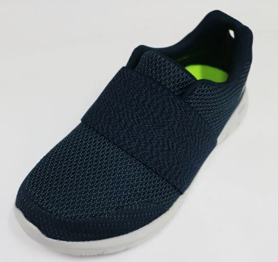 SKECHERS(女)健走鞋藍色輕量化避震透氣網布GOFlex2-14991NVGY[陽光樂活]