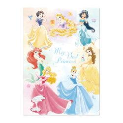 迪士尼L型文件夾-My Best Princess公主系列DPAF-170《筑品文創》
