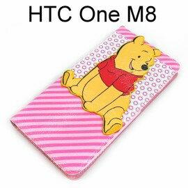 迪士尼公仔立體皮套 [小熊維尼] HTC One M8【Disney正版授權】