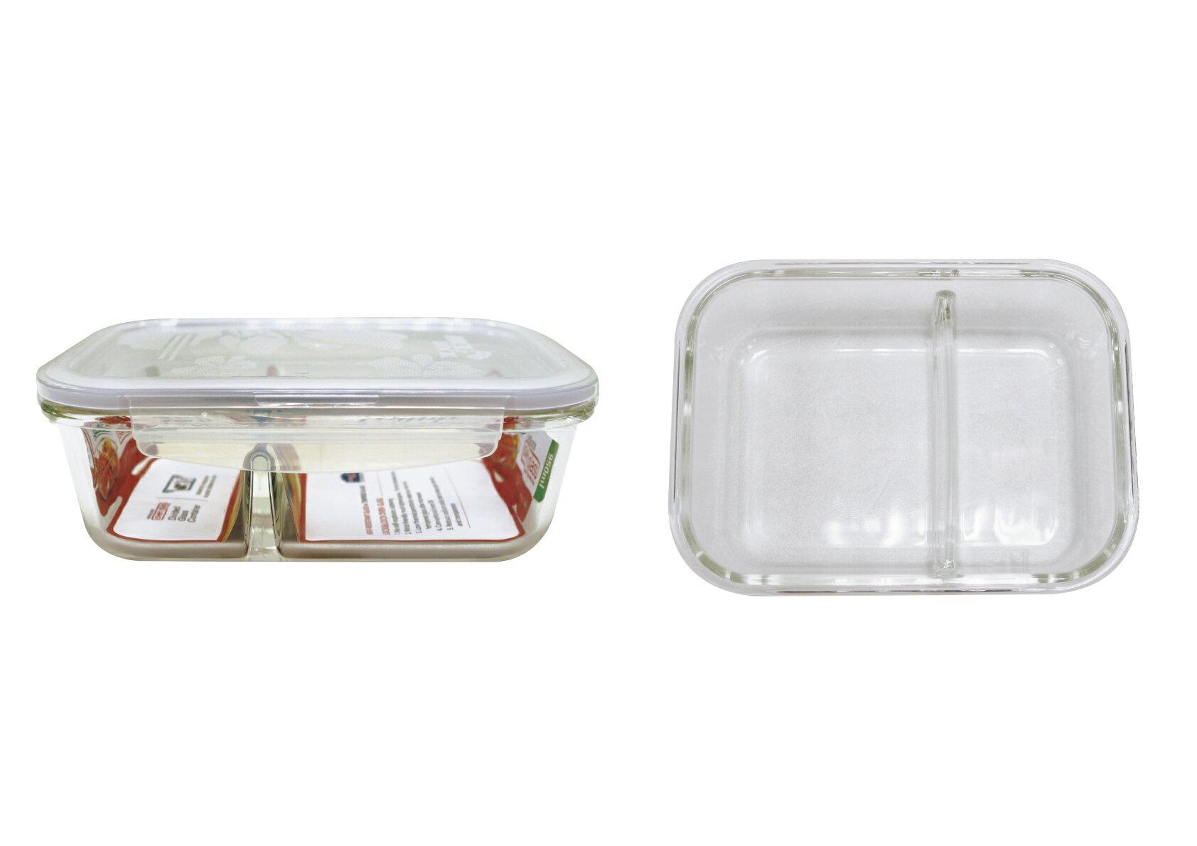 🌟現貨🌟樂扣樂扣耐熱分隔玻璃保鮮盒長方形320ML LLG422D 樂扣玻璃保鮮盒 樂扣分隔耐熱玻璃保鮮盒 另售LLG445D