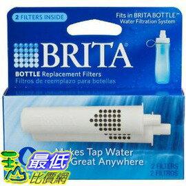 [玉山最低比價網] Brita 2入裝 隨身壺濾水壺濾芯 濾心 Bottle Replacement Filters