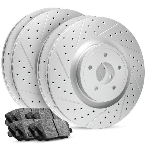 Full Kit Premier Drilled Slotted Brake Rotors & Ceramic Brake Pad Legacy, Outback 5d798c85c3306b231f2e4cc2e8b7fa39