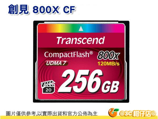 免運 Transcend 創見 256G CF 800X 讀120M 寫60M 讀120MB 寫60MB 公司貨 終保