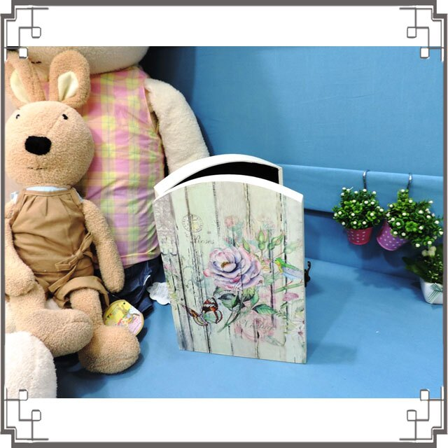 皮革KEY BOX《LK17-2》復古玫瑰木製皮革鑰匙盒 收納盒 壁櫃 壁飾 居家布置◤彩虹森林◥