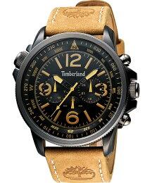 Timberland 天柏嵐 質感 原木色腕錶 黑面