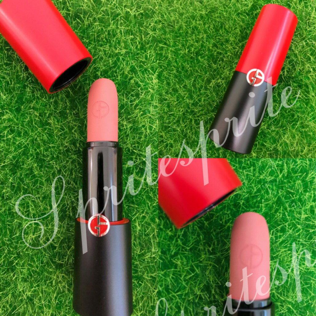 GIORGIO ARMANI亞曼尼奢華訂製柔霧唇膏Rouge D'Armani Matte Lipstick 1