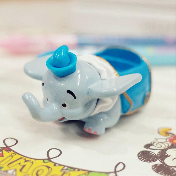 PGS7日本迪士尼系列商品-樂園限定小車-小飛象Dumbo空中飛車多美小汽車【STD7834】