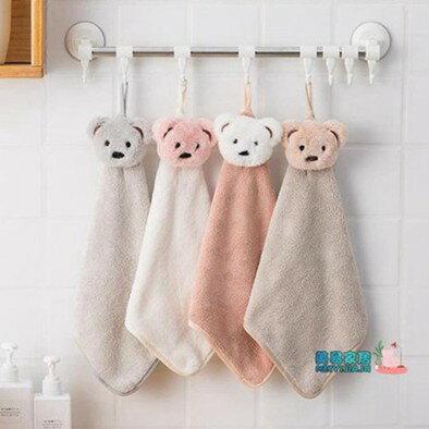 擦手毛巾 卡通擦手巾方巾兒童小毛巾掛手巾廚房巾掛式抹布清潔巾  聖誕節禮物