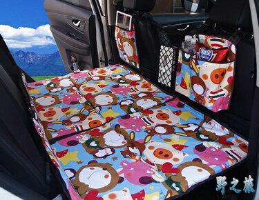汽車睡墊車載床墊非充氣床轎車SUV后排座旅行床車震床兒童折疊床   聖誕節禮物