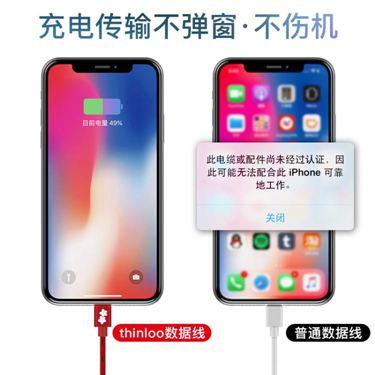 蘋果數據線iPhone7加長2米5s手機8Plus充電線6s器x六  聖誕節禮物