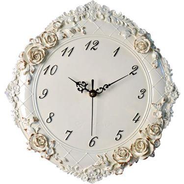 歐式時鐘 創意立體裝飾壁掛鐘錶臥室靜音時尚藝術石英鐘壁鐘  聖誕節禮物