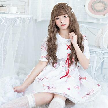 洛麗塔洋裝-洛麗塔洋裝日常軟妹洋裝學生可愛日系蘿莉二次元lolita春夏款女 花間公主  聖誕節禮物