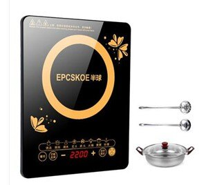 電磁爐電磁爐家用小型節能爆炒菜半球火鍋一體迷你智慧電磁爐灶   萬事屋 220V  聖誕節禮物