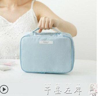 EACHY新款ins網紅化妝包女便攜隨身旅行口紅化妝品收納包袋大容量   伊卡萊生活館  聖誕節禮物