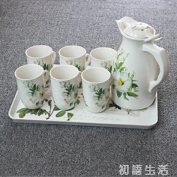 蛋糕架托盤家用長方形歐式水杯托盤茶盤創意水果盤水餃蛋糕餐盤北歐水果  聖誕節禮物