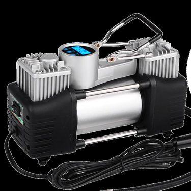 車載充氣泵12V汽車雙缸便攜式 萬事屋  聖誕節禮物