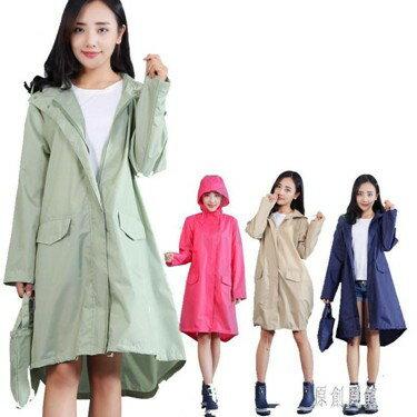輕薄透氣旅游雨披成人雨衣 女戶外徒步可愛長款日本時尚防水風衣  LR5335  聖誕節禮物