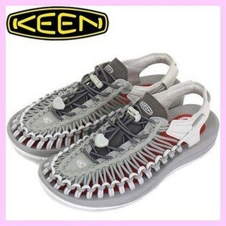 ├登山樂┤美國KEENUNEEKO2女編織涼鞋-灰紅#1018694