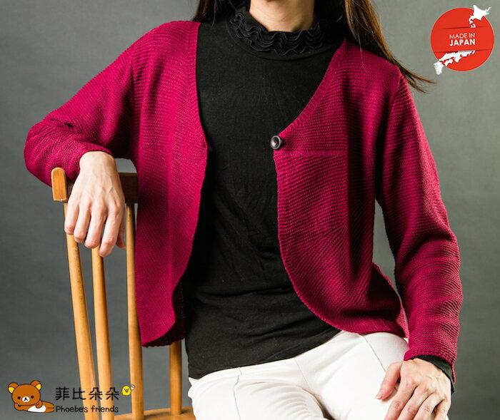 【菲比朵朵】 EresTu 日本製短版毛外套