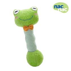 【麗嬰房】nac nac 青蛙曲線手搖鈴