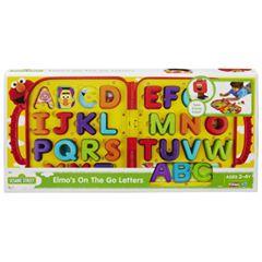 《★美國芝麻街美語Sesame Street》ABC字母遊戲攜帶組 美國代購 平行輸入 溫媽媽
