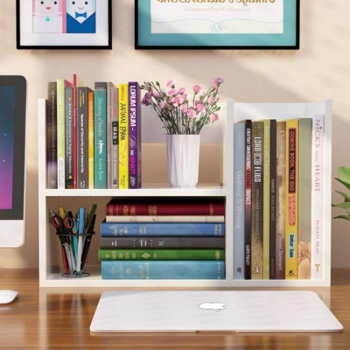 書架 學生用桌上書架簡易兒童桌面小書架置物架辦公室收納架省空間書柜