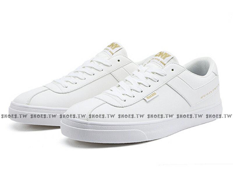 Shoestw【83M1MC01RW】PONY Macado 板鞋 休閒鞋 皮革 白金 男生 蔡依林 周筆暢 雙后代言 0