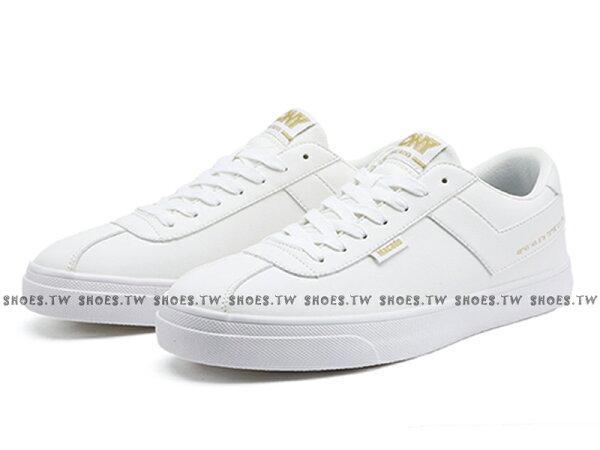 Shoestw【83W1MC01RW】PONYMacado板鞋休閒鞋皮革白金女生蔡依林周筆暢雙后代言