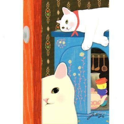 JETOY,Choo Choo 甜蜜貓第二代明信片 Room~快樂生活網