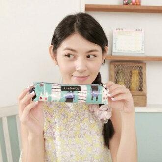 Noafamily,諾亞Rally cat防水筆袋 BG~快樂生活網