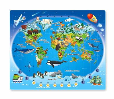 世界動物點讀桌板 啟蒙學習 圖像教學【SV7467】HappyLife