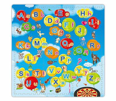 互動發聲地墊 英文字母 親子互動 雙語學習教具 遊戲墊 兒童地墊【SV7475】HappyLife