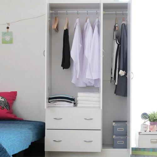 快樂生活網:台灣製三門二抽多功能收納組合衣櫥衣櫃抽屜櫃置物櫃《YV8621》快樂生活網