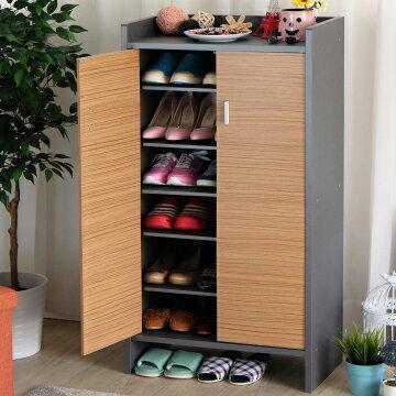 台灣製 雙門鞋櫃 鞋櫃 高台置物鞋櫃(小)《YV8638》快樂生活網