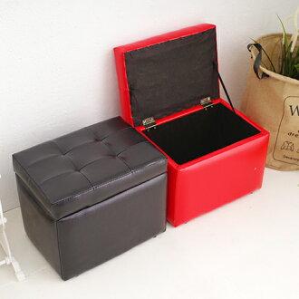 掀蓋沙發收納椅 收納凳 收納椅 穿鞋椅 玩具收納箱《YV8683》快樂生活網