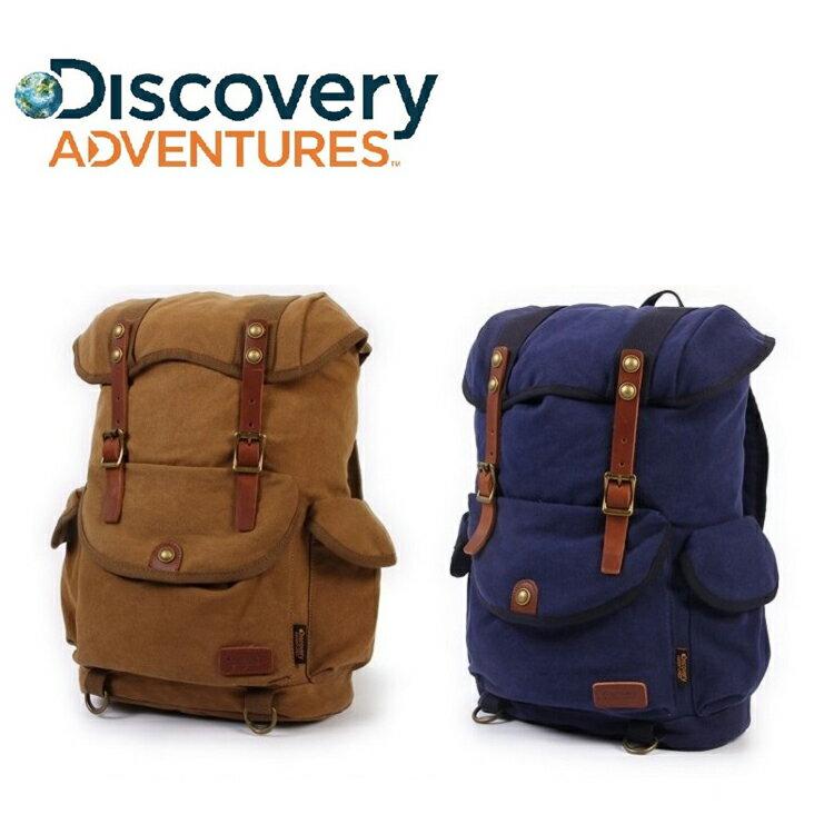 <br/><br/> Discovery Adventures 復古系列 時尚休閒 後背包 15L 【YV8702】快樂生活網<br/><br/>