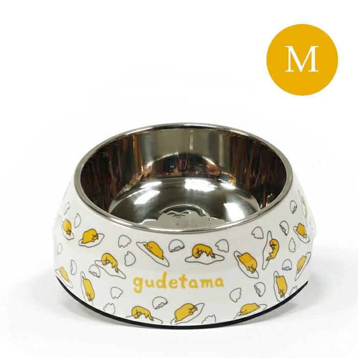 Gudetama 正版授權 蛋黃哥 寵物碗 繽紛寵物碗 白底蛋黃哥 (M) 【SV8874】快樂生活網