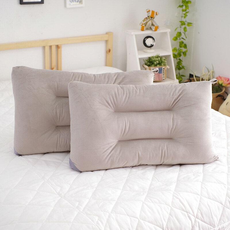製 枕頭 可水洗彈性枕 灰 快乾滴水網布 ~YV9171~快樂 網