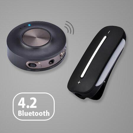 免配對 低延遲音樂傳輸升級套件組 低延遲藍牙發射器+音樂接收器 Avantree HT3187【SV9242】快樂生活網