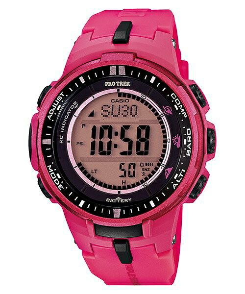 CASIO PRO TREK 登山錶 PRW~3000~4B 登山電波腕錶 47mm